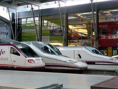 Spanish high speed train test track hits the buffers