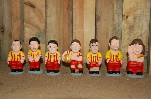 Gareth Bale and Naymar among stars immortalised as Christmas figurines