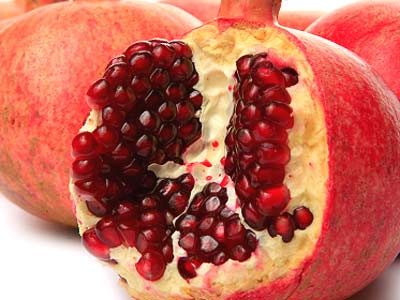 Pomegranates can counteract fast food damage