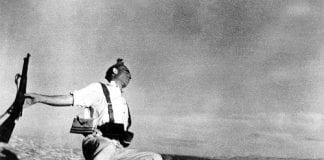 Robert Capa Interview Discovered