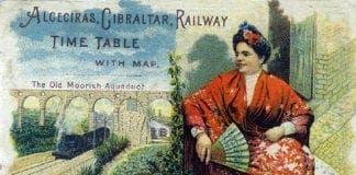 algeciras gibraltar railway original timetable