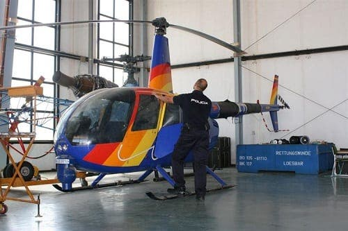 Thieves steal helicopter to use for drug trafficking