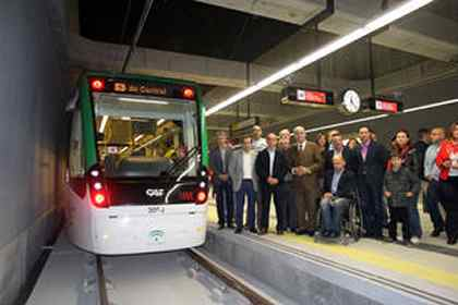 Malaga Metro trial a success