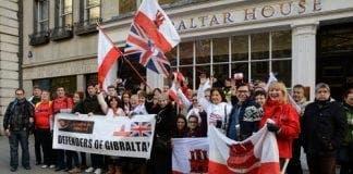 GIB London Protest