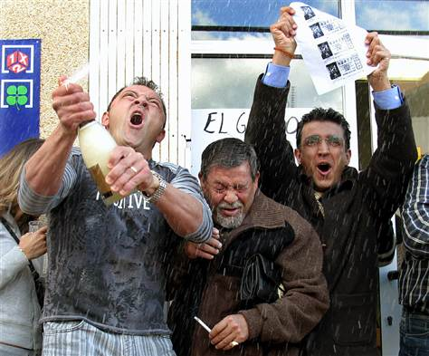 Spain's El Gordo Lottery – the 'Fat One'