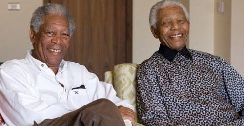 Spanish goalkeeper confuses Nelson Mandela with actor Morgan Freeman