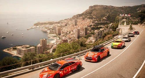 Miami to Ibiza in Gumball Rally