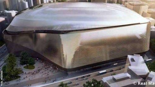 Real Madrid unveil £330m stadium redesign