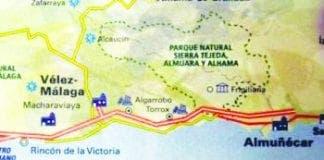 Nerja Map