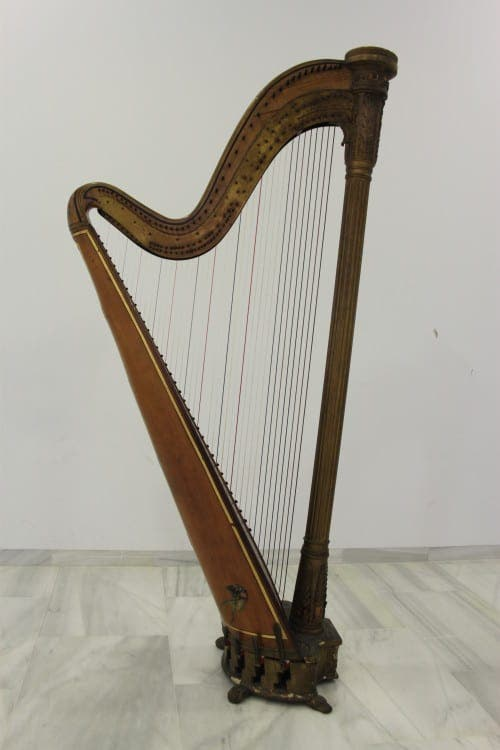 This old harp of mine!