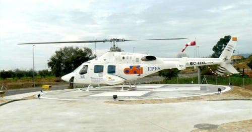 Nerja helipad given green light