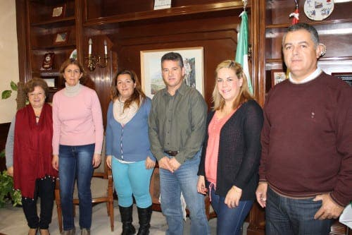 Mijas residents club together for reforestation project