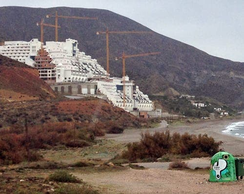 DISGRACE: El Algarrobico hotel declared legal…. Have your say, legal or not?