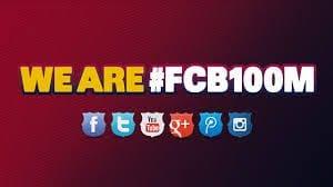 FC Barcelona top the social media league