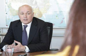 Ian Duncan Smith in Madrid to meet benefit fraud investigation team