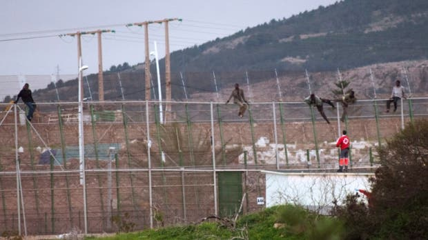 African migrants carry out massive storm of Spanish enclave Melilla