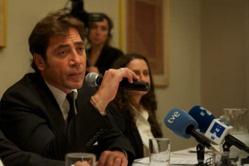 Javier Bardem regrets 'lover' comment as diplomatic conflict rages