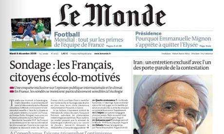 Spanish football teams beat Le Monde newspaper