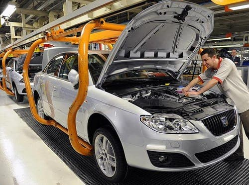 Spain's car production up by more than two million