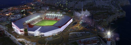 Gibraltar FA unveil design for new stadium