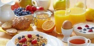 breakfast e