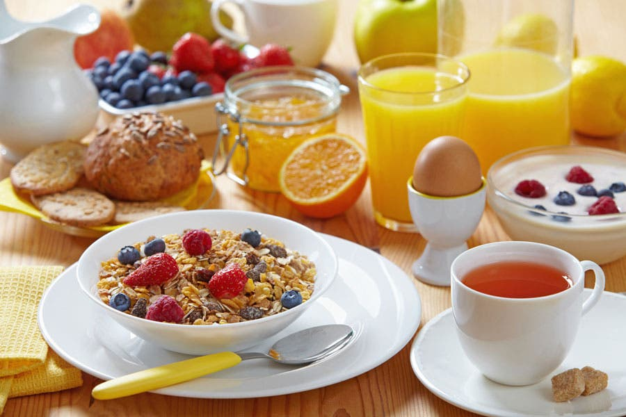 Children get up to half their daily salt intake during breakfast