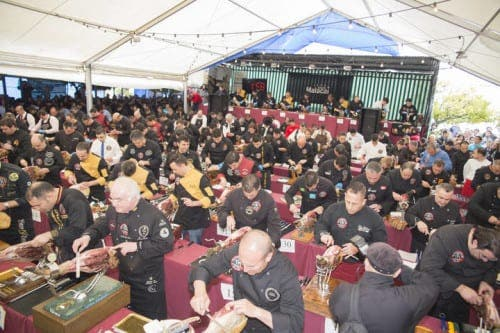 150 ham cutters try to carve their way into the record books