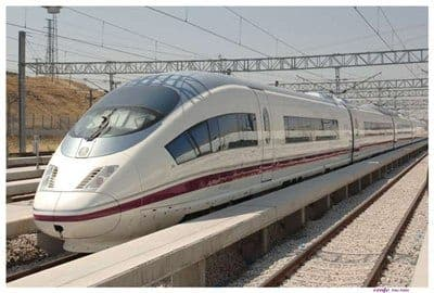 New Granada high speed train limited to single track