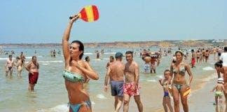 spain beach e