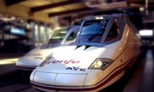 BULLET TRAINS: Will be transporting organs across Spain