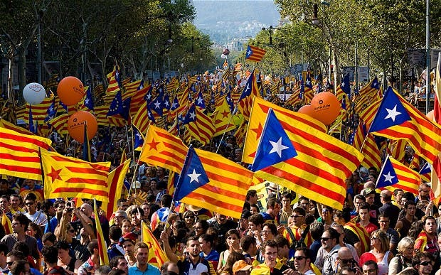 Spanish parliament rejects Catalunya's bid for independence