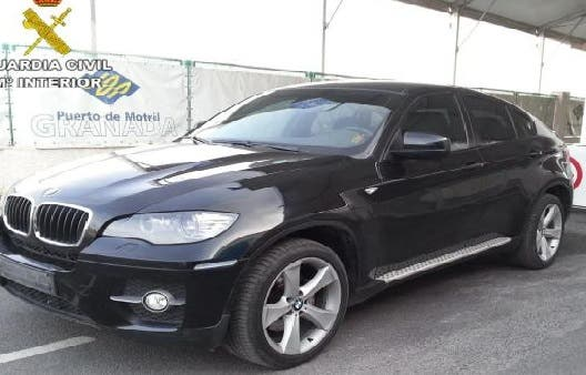 Luxury SUV recovered in Motril