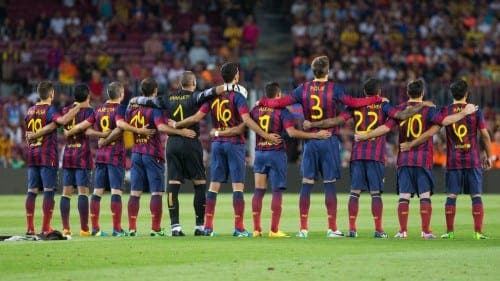 Barcelona's transfer ban suspended