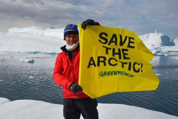Arctic threat to Spain's beaches warns Greenpeace