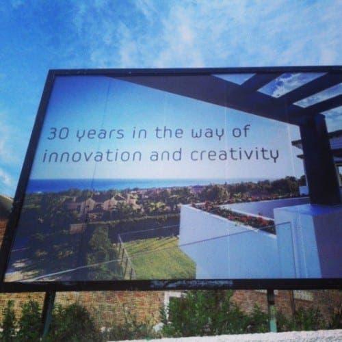 Loud and Clear: Puerto Banus billboard rings true