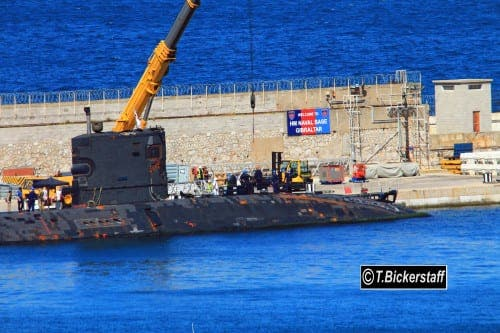 UK submarine HMS Tireless returns to Gibraltar after Malaysian plane search