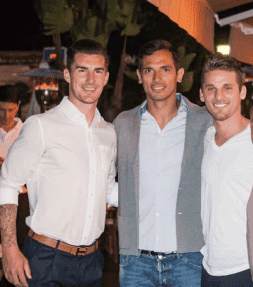 Football stars flock to Costa del Sol's celebrity hot spot