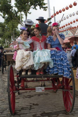Sevilla's Feria de abril in May?