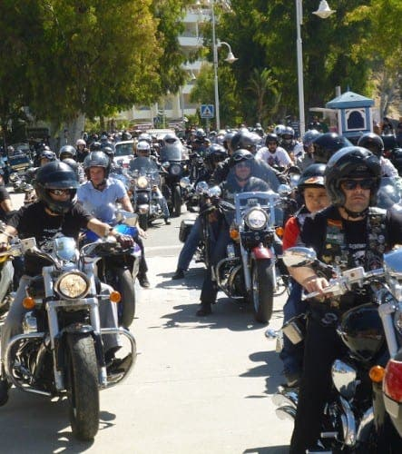 Get your engines running for Almunecar's motorbike rally