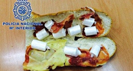 Cocaine sandwich leads to Colombian man's arrest