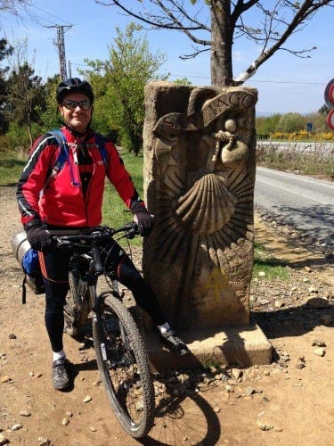 Ambitious father-son team take on the Camino Way
