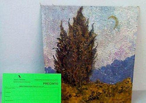 Van Gogh painting discovered by tax inspectors revealed as fake