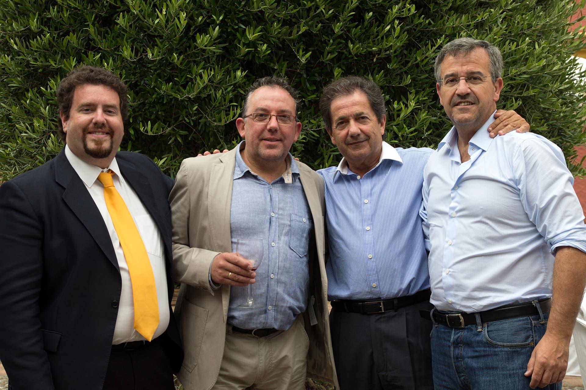 Mayors celebrate 10th birthday of Gaucin family hotel