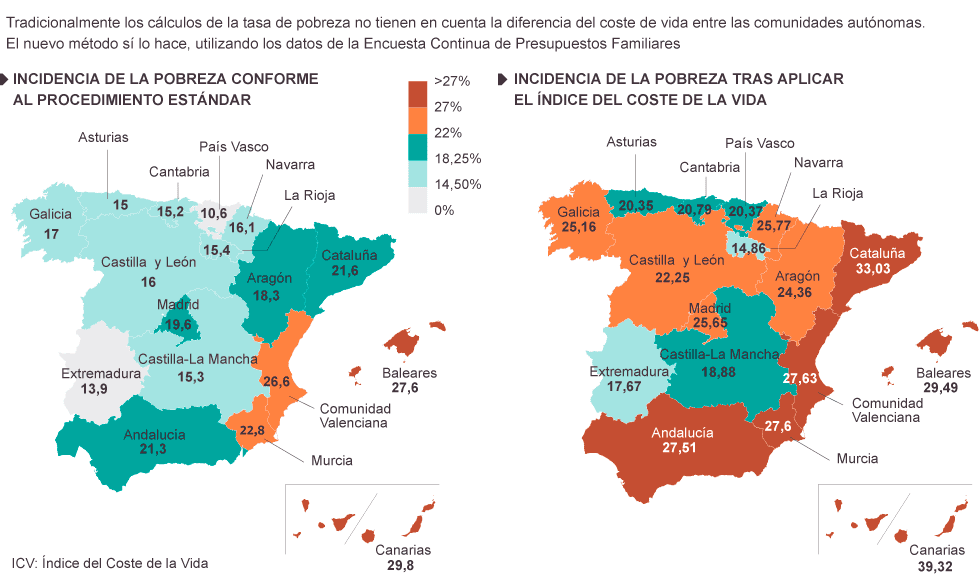 New Spanish poverty map reveals grim reality behind official stats