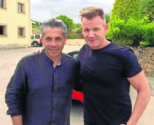 TV chef Gordon Ramsay transforms Fuengirola restaurant while filming in Spain