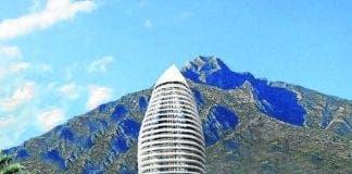 rascacielos Marbella e