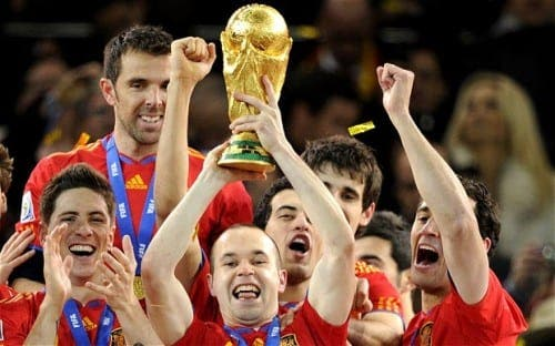 Spain's players to receive biggest bonuses for potential World Cup win