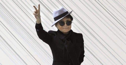 Yoko Ono honoured in Bilbao