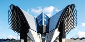 Calatrava building e