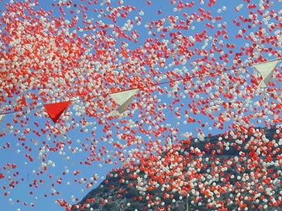 Environmentalists increase pressure to end Gibraltar National Day balloons tradition
